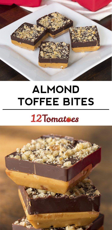 English Toffee Bites
