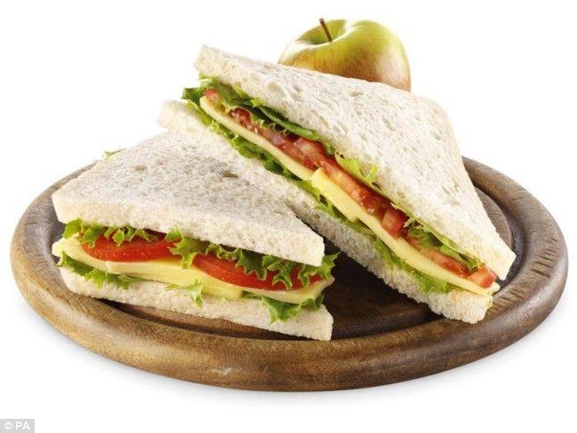 #sandwich #pan de molde