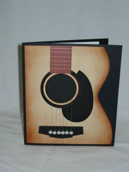 Cool guitar card