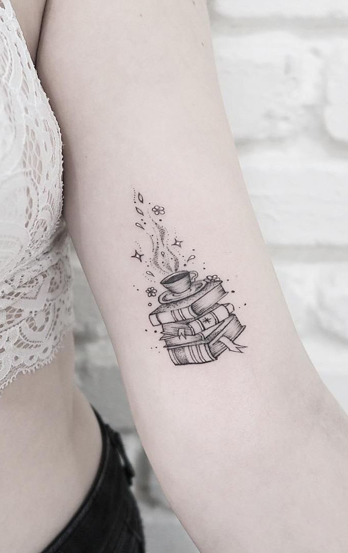 Awesome book tattoos for literature lovers