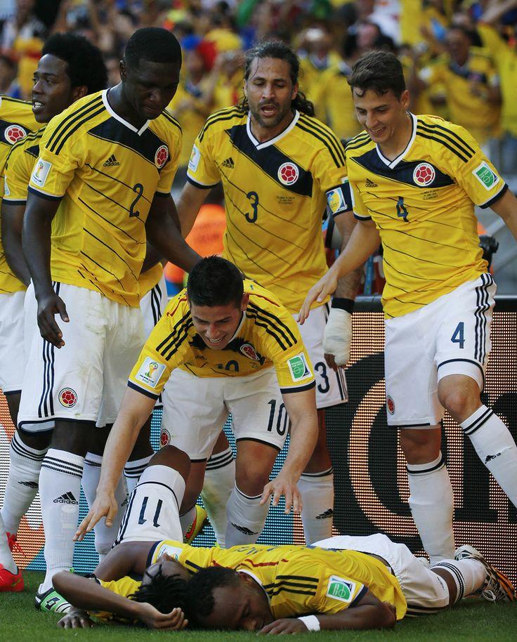 14.06.2014 Colombia Vs. Grecia
