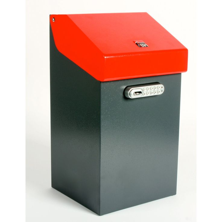 Medium image of iBin Classic Parcel Delivery Box Red