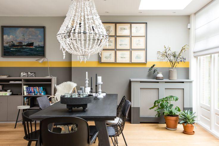Het huis van Kaouter en Niklas is een goede mix van de Zweedse en Marokkaanse cultuur geworden.