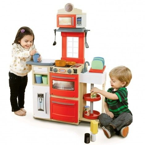 Cook 'n Store� Kitchen - Red for $69.99 #littletikes