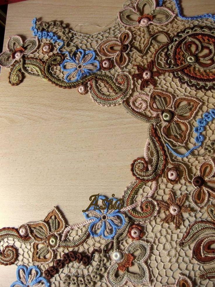 Beautiful crochet Irish lace