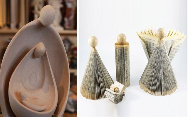 Ideas para decorar con belenes de Navidad originales