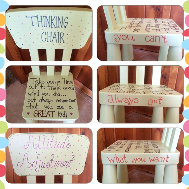 Timeout Chair Thinking