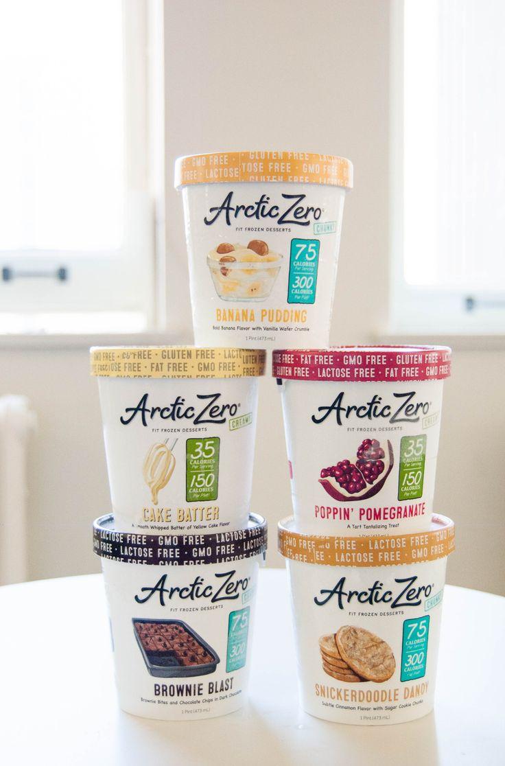 Protein-Packed Arctic Zero Ice Cream ist laktosefrei und kalorienarm, und Here & # …   – Packaging