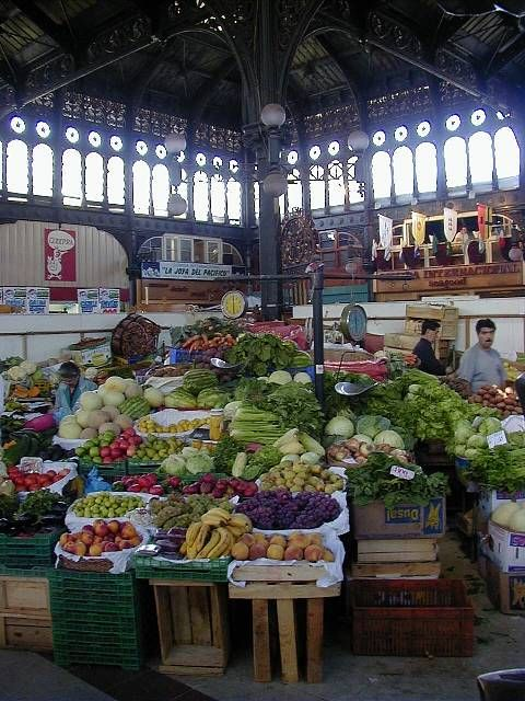 El Mercado Central (The Central Market) santiago