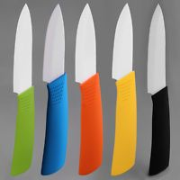 3 Inch Ceramic Knife Colorful Handle With White Blade Home Kitchen Knives LKCN