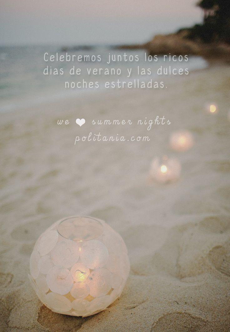 We <3 summer nights. En Politania Magazine nos dedicamos a difundir moda y arte desde el gran Concepción.  NS