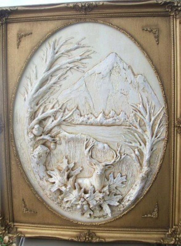 Best Clay Drywall Mud Relief Wall Art Images On Pinterest - Artist uses drywall to create extraordinary sculptures