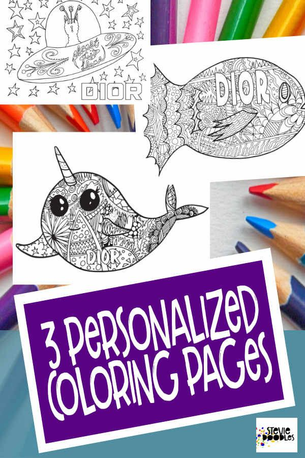 Dior 3 Free Printable Coloring Pages Printable Coloring Pages