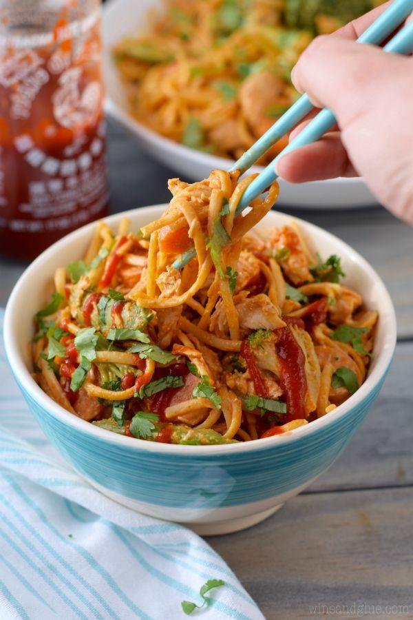 sriracha noodle bowls noodle bowls rice bowls chinese noodle recipes ...