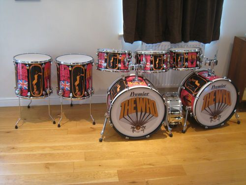 Premier Spirit Pictures Of Lily Keith Moon Drum Kit Drums Drum
