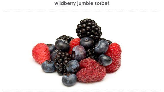 wildberry jumble sorbet