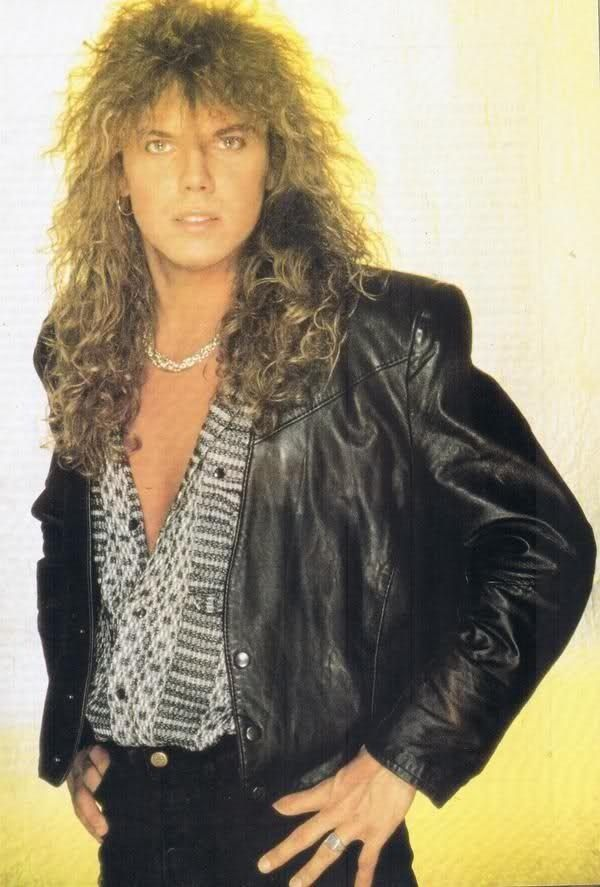 sexy Joey Tempest lead singer of Europe