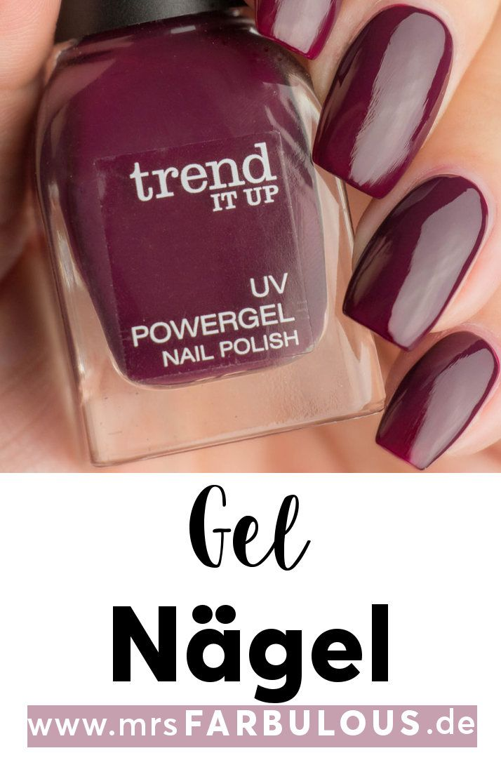trend IT UP UV Powergel Nail Polish Nagellack.Matt oder shiny Nägel für den He…