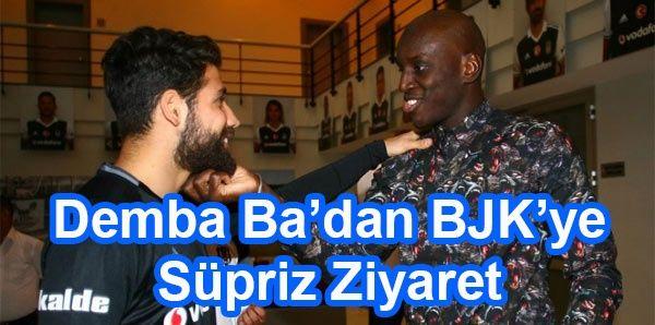 Demba Ba'dan Beşiktaş'a Sürpriz