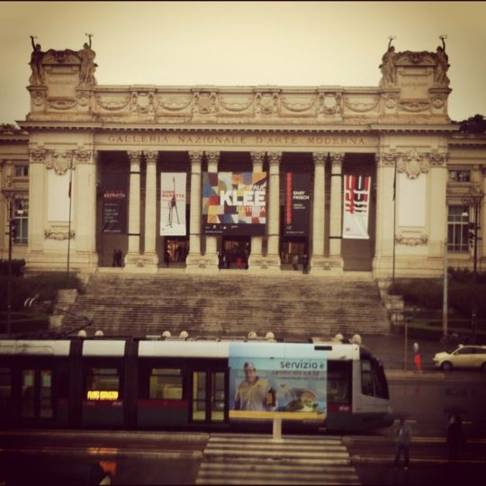 National Gallery of Modern and Contemporary Art, Rome, Italy. galleria nazionale d'arte moderna