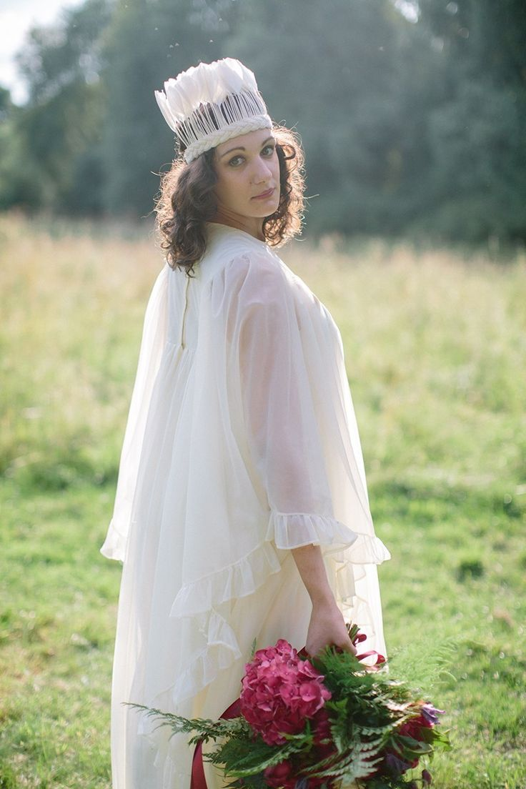 1970's Wedding Inspiration with Feather Headdresses and