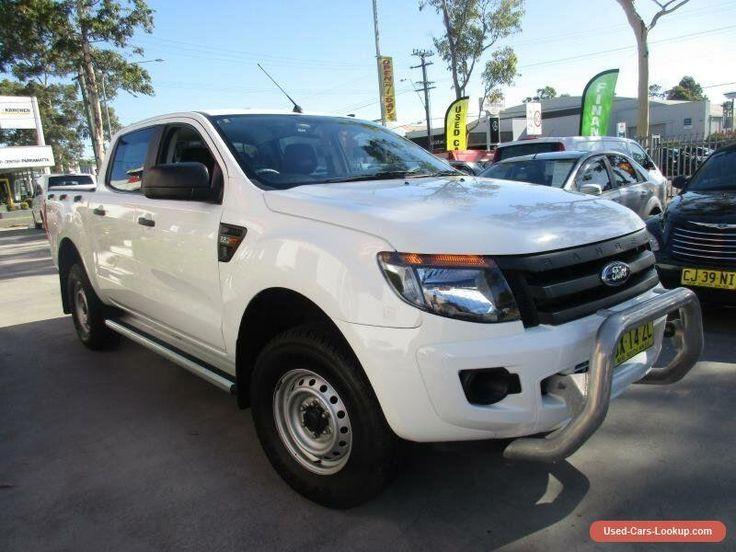 2013 Ford Ranger PX XL White Automatic A 4D UTILITY #ford #ranger #forsale #australia