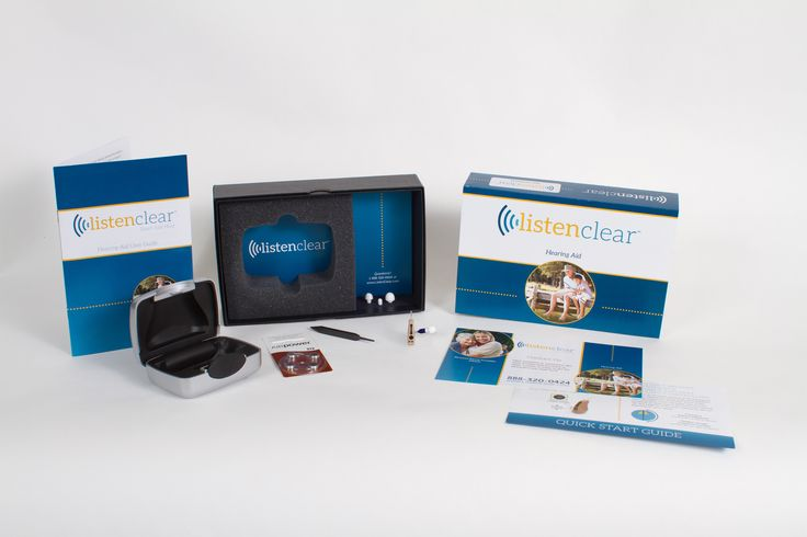 ListenClear hearing aids are easy to use and now come with a 45 day free trial! Call 1-888-895-1162