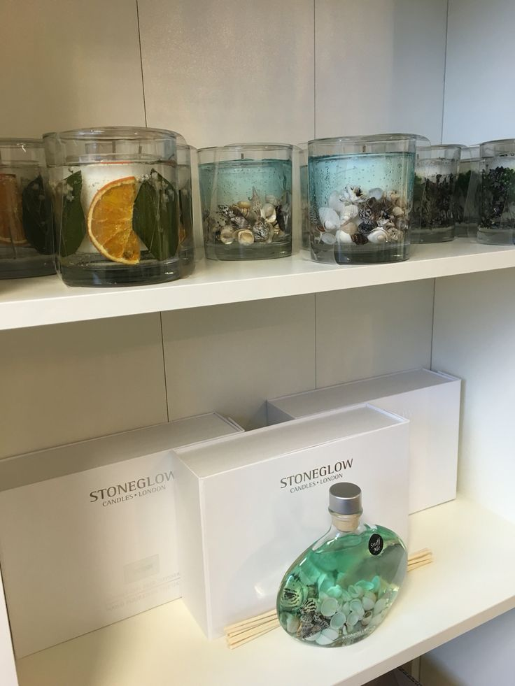 Absolutely gorgeous candles from Stoneglow. Great gift ideas from the nest.