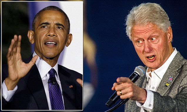 Bill Clinton attacks Obamacare as 'this crazy system' killing business #DailyMail