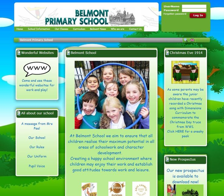 This week we are featuring Belmont Primary School in Bolton (Blackburn with Darwen LA) . Theirs is a really welcoming and informative site - have a visit and see for yourself!
