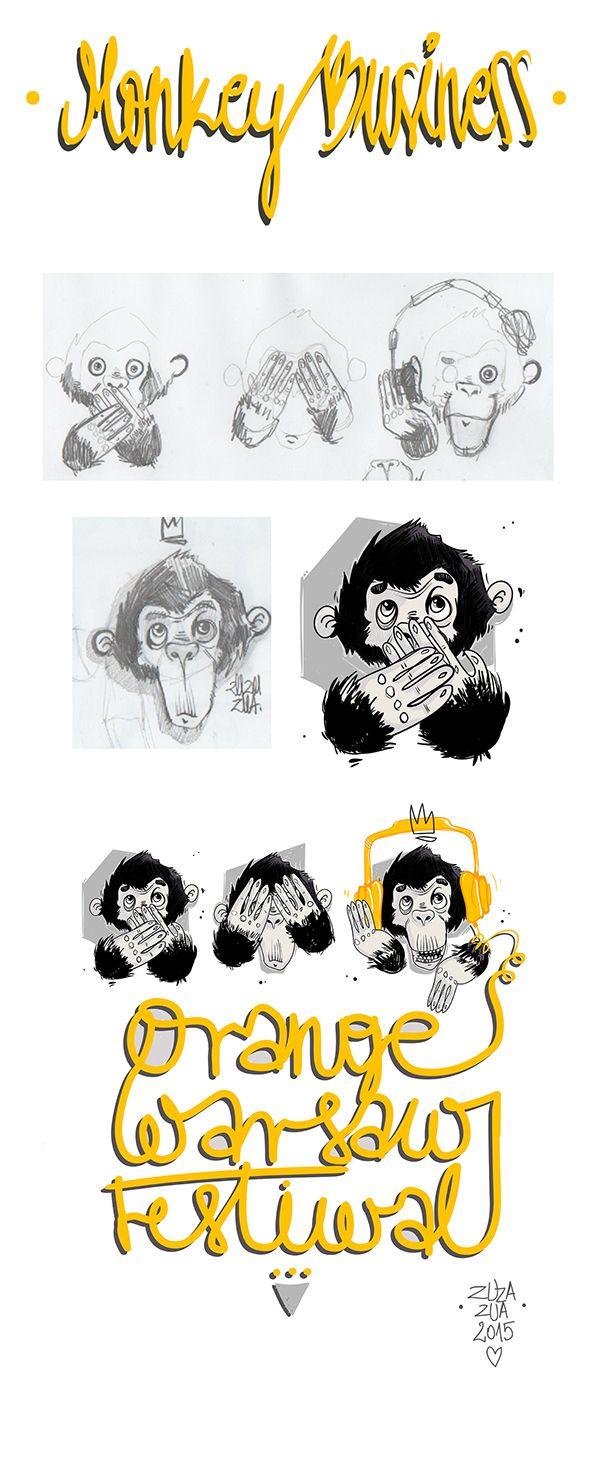 T-shirt project - Monkey Business on Behance