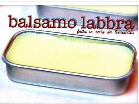 ▶ BALSAMO LABBRA AL MIELE FATTO IN CASA DA BENEDETTA - YouTube