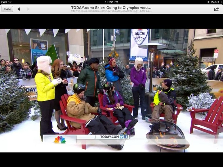 Look for Slopestyle Skiing in the 2014 Winter Olympics! Also, check out Matt Lauer wearing The North Face Gonzo Jacket! http://www.klmountainshop.com/the-north-face-men-s-gonzo-jacket-1.html