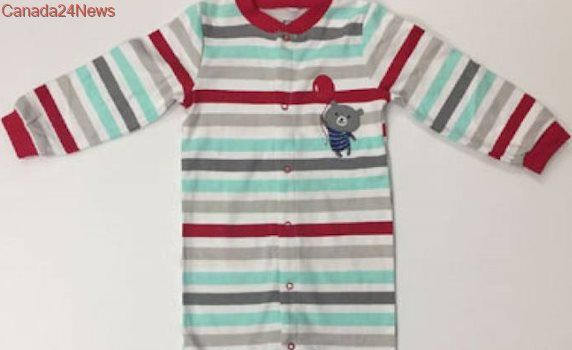 Pekkle infant sleepers recalled from Costco Wholesale
