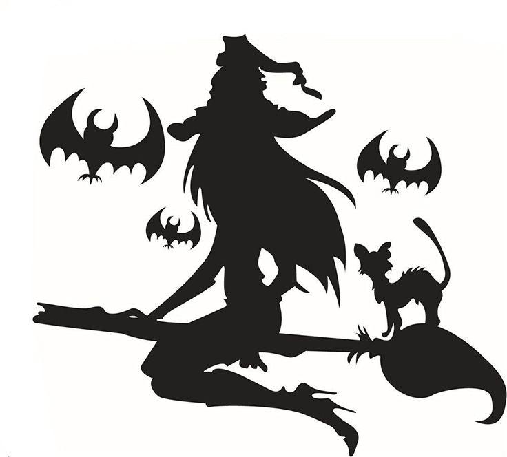 Bestwoohome Wall Sticker Halloween Decorations Decor Window Decal (1-Wild Cats)…