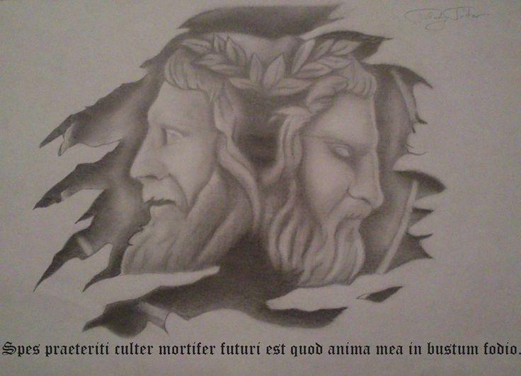 Iannus/Janus/Life/Past/Future/Drawing