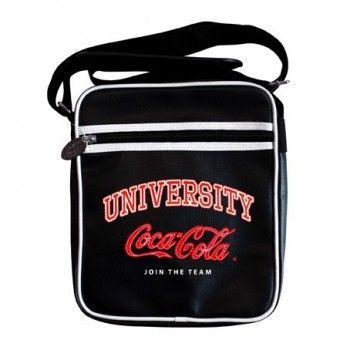 Sac besace bandoulière Coca Cola  #maroquinerie #sac #voyage #enfant #adulte #valise #trousse #plage #pochette #cocacola