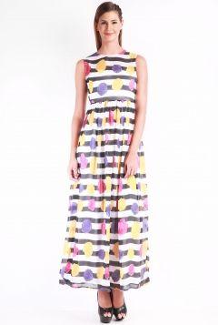 change360 Online Shopping- Stripe Floral Maxi dress  #maxi dresses #multicoloured #sleeveless #womenfashion #womenswear #style #fashion #women #prints #lovefashion #lovestyle #stylish #modern #westernwear #pinterestfashion #pinterestdaily #Change360store #C360 #change360fashionstore #Change360 #onlinefashionbrand #changelifestye #Indianfashion #Mumbai #India