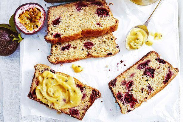 Ricotta Passionfruit Layered Cake Recipe