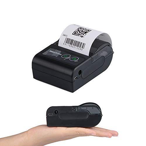 Dprinter 58mm Mini Bluetooth Wireless Handheld Thermal