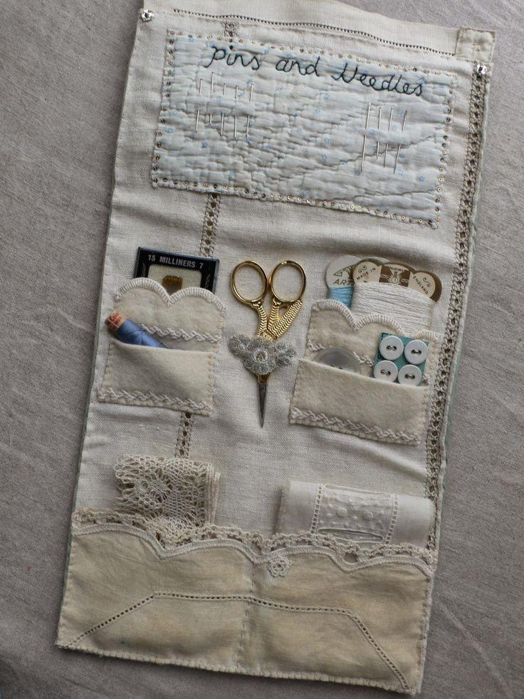 Inside of sewing set by Gentlework