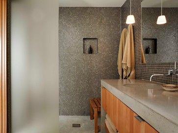 Idaho Lake House - modern - bathroom - other metro - Stone Interiors