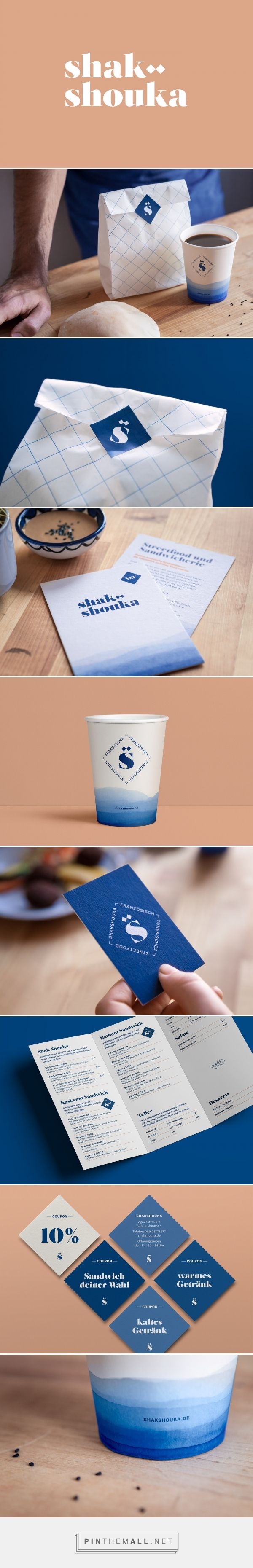 Shak Shouka visual branding identity by muskat design on Behance