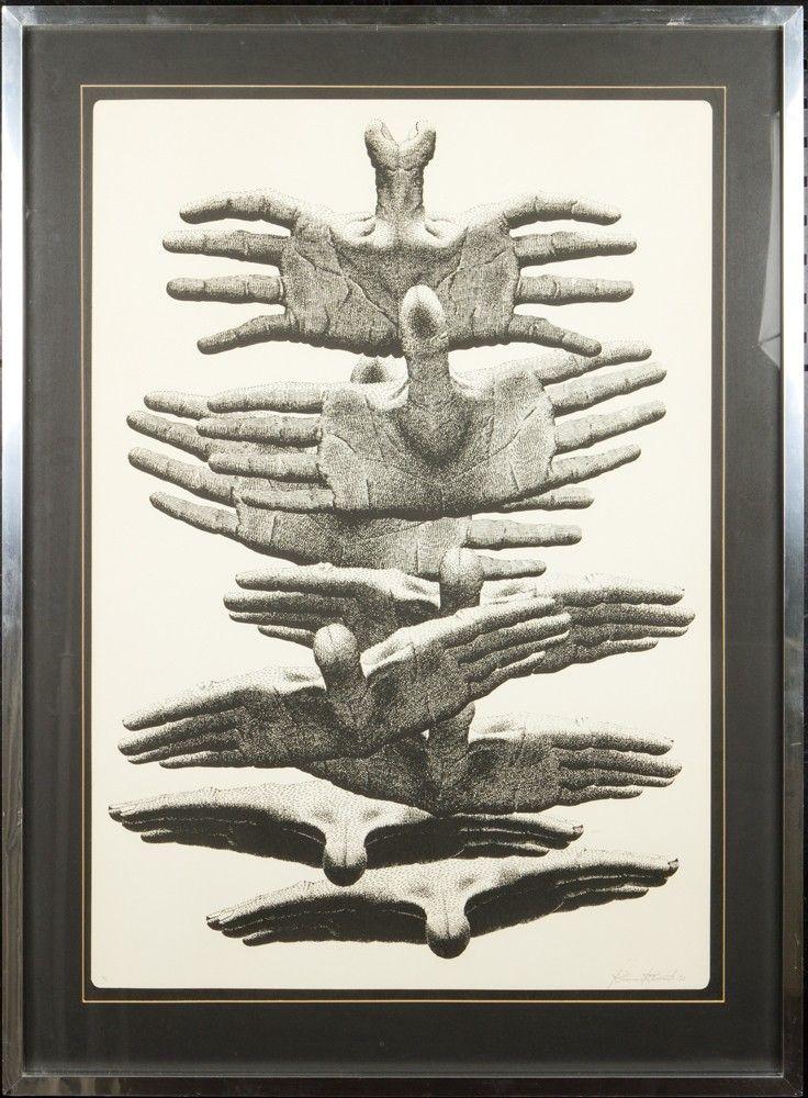 Kimmo Kaivanto, 1978, 84x59 cm - Hagelstam A127