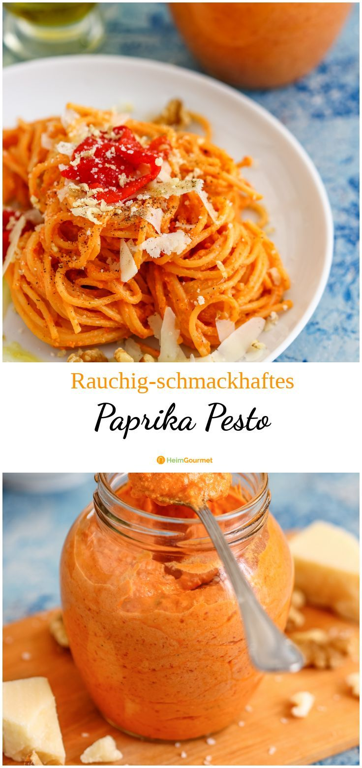 Paprika pesto: tasty and creamy with a certain spiciness!   – Alles für ein BBQ