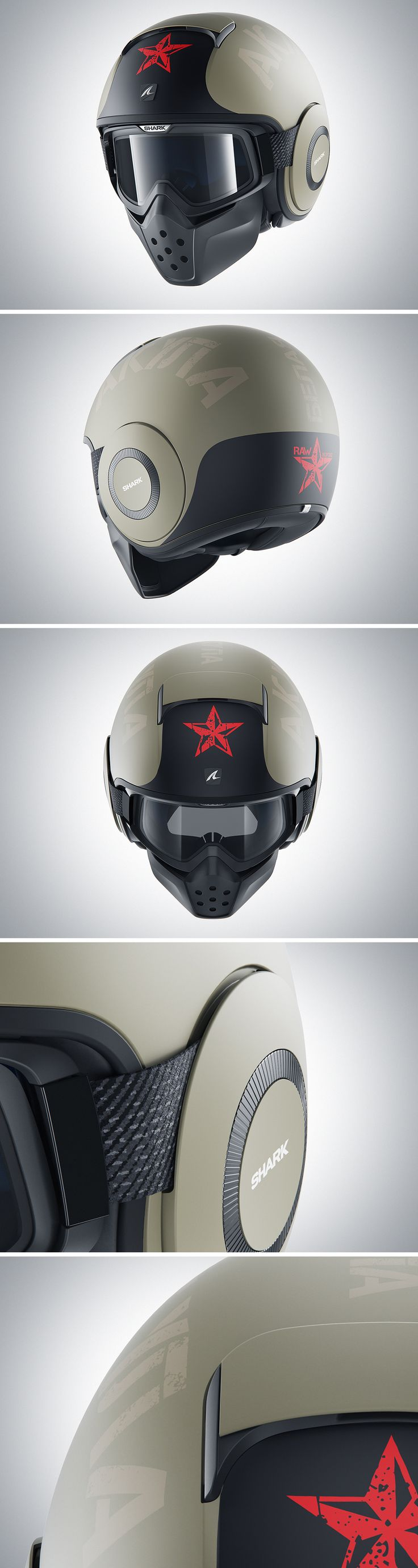 Fully CGI project. We were asked to produce almost 300 shots for the 2016 Shark Helmets Catalogue. Software: 3ds max + HDR Light Studio + V-ray +  Photoshop Follow me on facebook