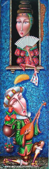 """Artist Zurab Martiashvili: 2012, """"Serenade"""""""