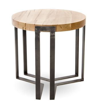 Watson Round End Table By Charleston Forge Made in USA http://www.charlestonforge.com/occasional-tables/6115-watson-round-end-table