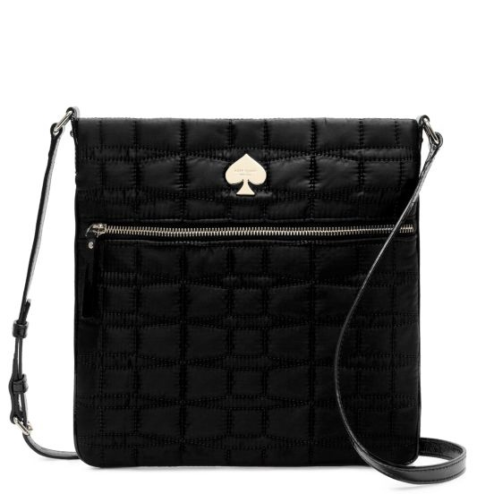 Quilted Signature Spade Ellen in black: Black Bags, Style, Color Bags Shoes, 225 00 Katespade, Cross Body Bags, Bags To Die, Kate Spade, Purses Wallets And Bags, Spade Ellen