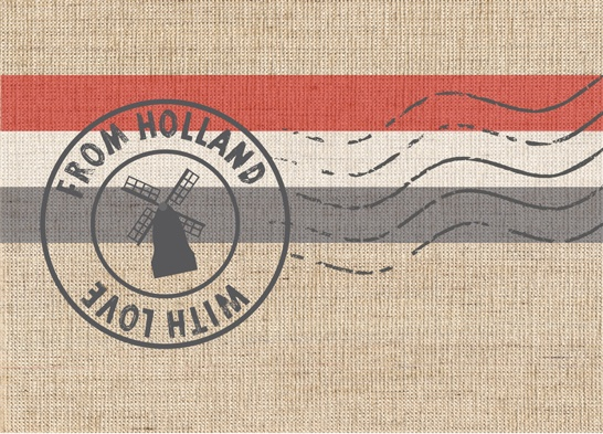 Postkaart From Holland with Love